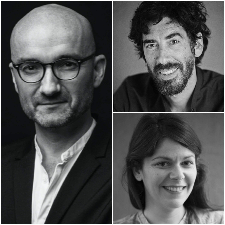 Sophie Berlioz, Philippe Emont et Pierre-Yves Goarant