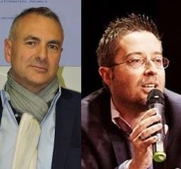 Gérard Taponat et Eric Ferreres