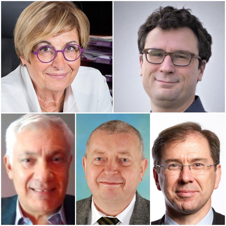 Julien Sportes, Claudine Vergnolle, Philippe Gervais, Gérard Lejeune, Francis Marquant