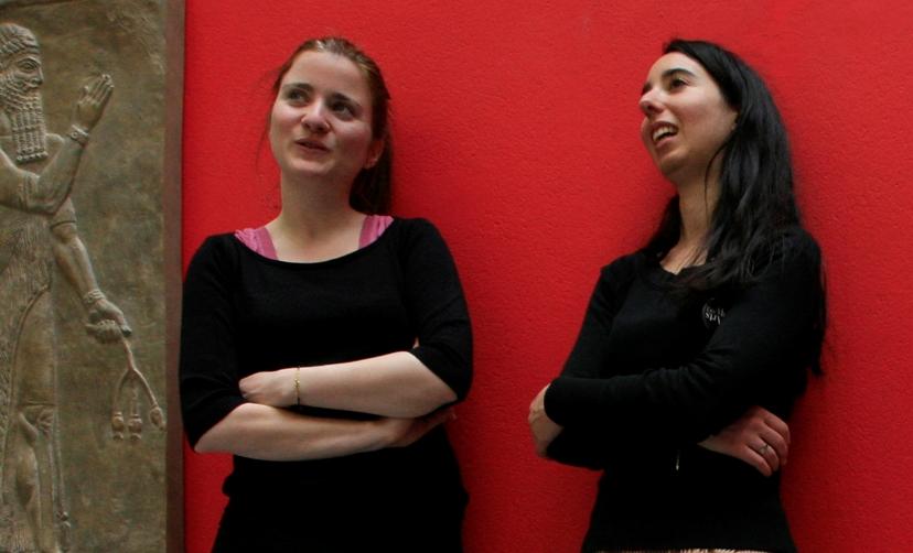 Laure Benacin et Morgane Pfligersdorffer