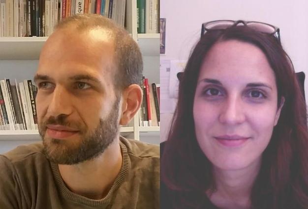 Annabelle Chassagnieux et Nicolas Bouhdjar
