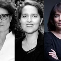 Emmanuelle Boussard-Verrecchia, Clara Gandin et Nelly Morice