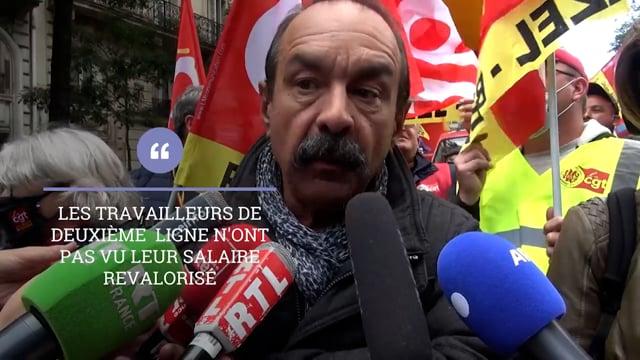 """P. Martinez (CGT) : """"Nous demandons une revalorisation des minimas de branche"""""""